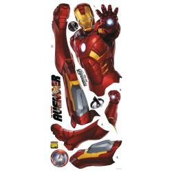 RoomMates Avengers Iron Man Peel and Stick Giant Wall Decal - Thumbnail 1