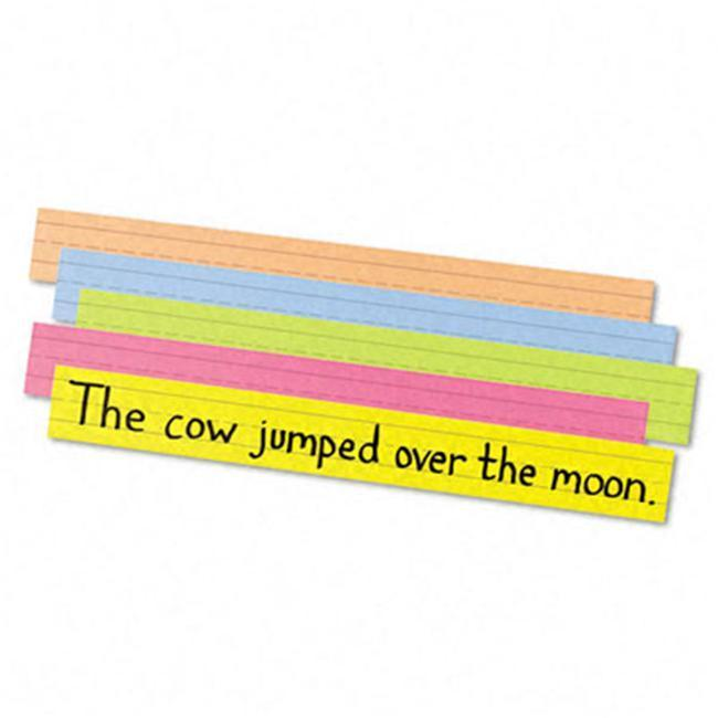 Pacon Super Bright Sentence Strips ages 4-8