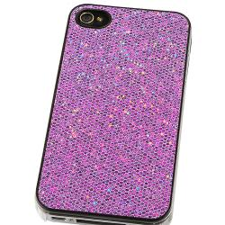 Cases/ LCD Protector/ Pink Dust Cap/ Pouch for Apple iPhone 4/ 4S