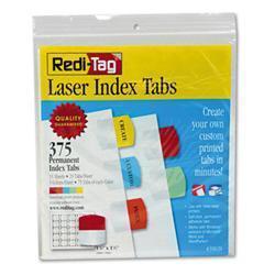 Redi-Tag Printable Laser Index Tabs 1-1/8w x