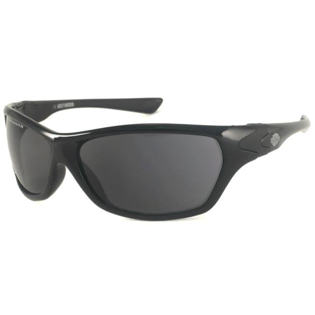 Harley Davidson Men's HDS505 Wrap Sunglasses