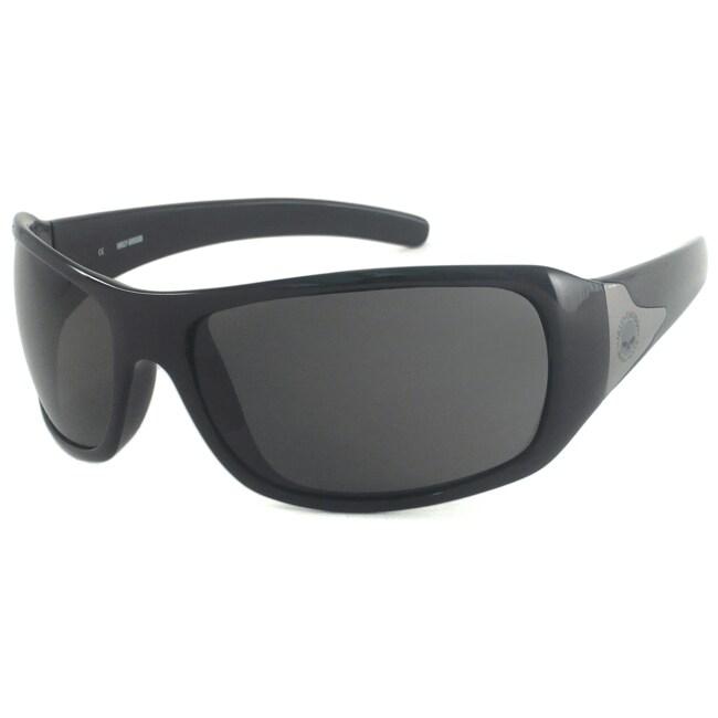 Harley Davidson Men's HDS517 Wrap Sunglasses
