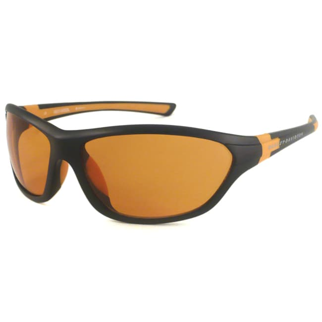 Harley Davidson Men's HDS576 Wrap Sunglasses