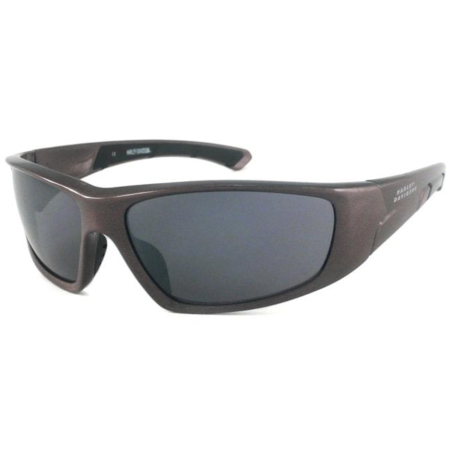 Harley Davidson Men's HDS577 Wrap Sunglasses