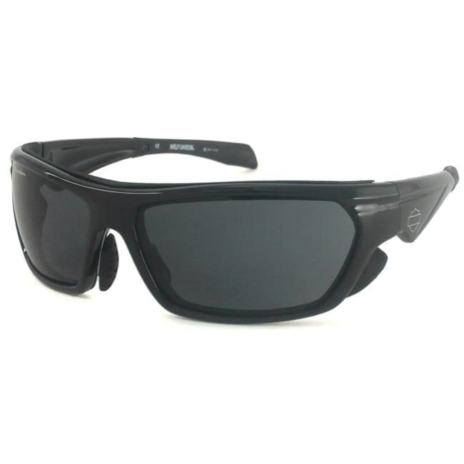 Harley Davidson Men's HDS583 Wrap Sunglasses