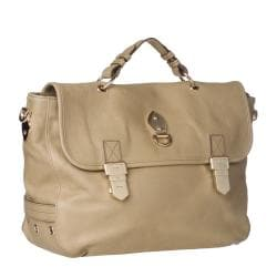 Mulberry 'Tillie' Oversized Distressed Leather Satchel