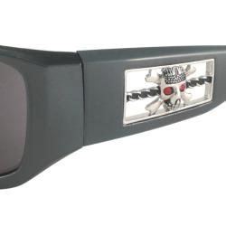 Harley Davidson Men's HDS584 Wrap Sunglasses