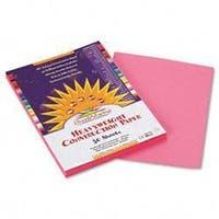 SunWorks Construction Paper- 58 lbs.- 9 x 12-