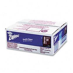 Ziploc Double Zipper Bags- Plastic- 1 gal- 1.75
