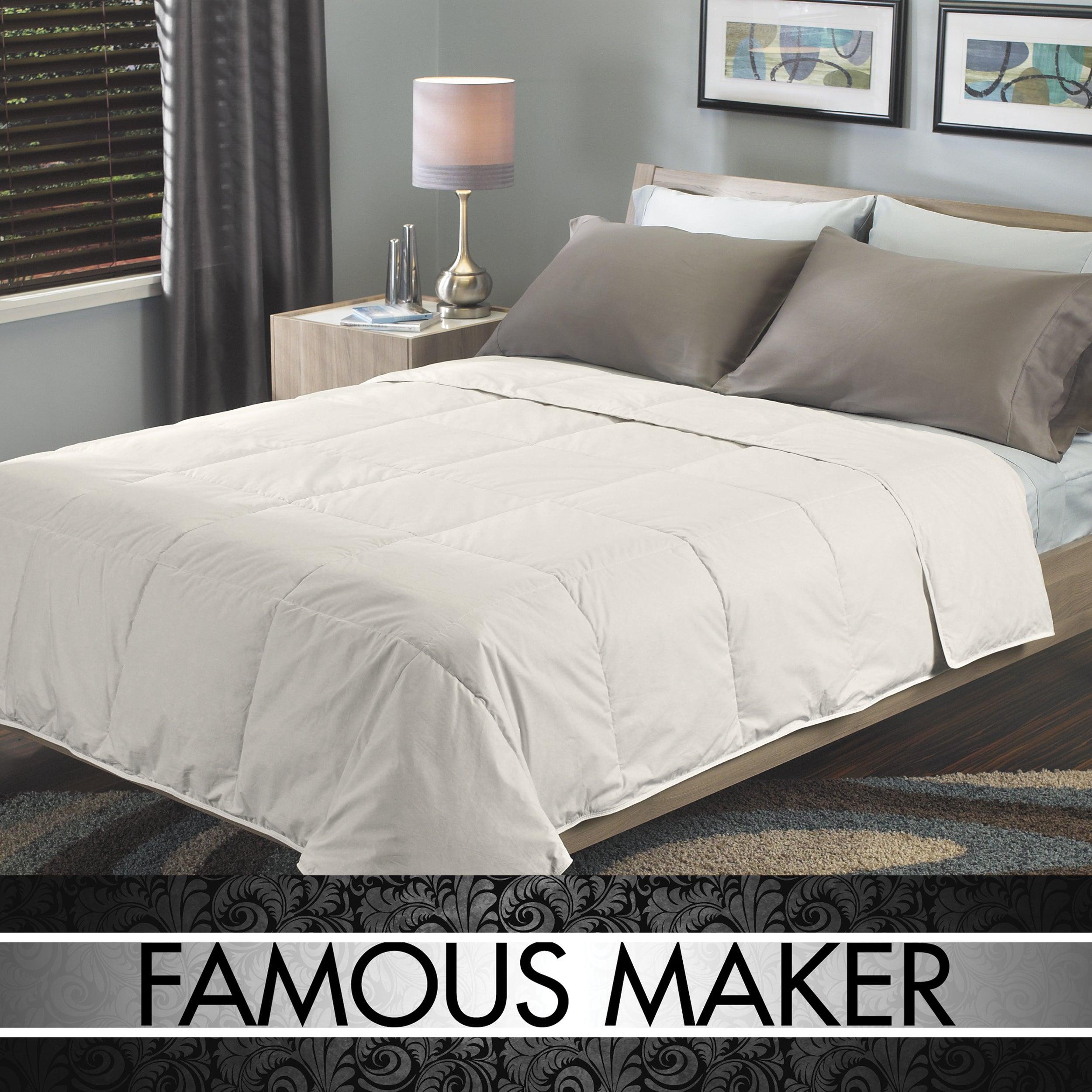 Famous Maker Prestige Comfort Natural White Down Comforter
