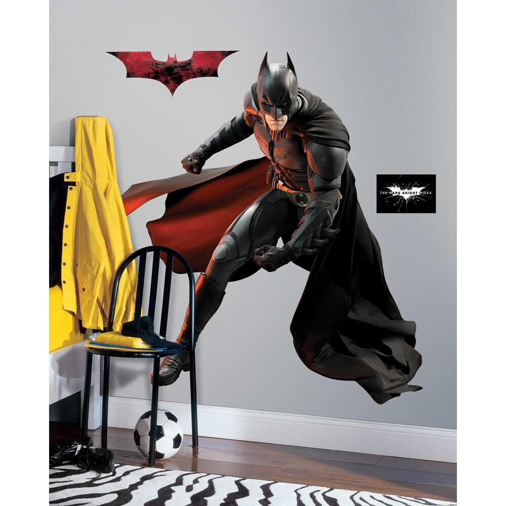RoomMates Batman Dark Knight Rises Peel and Stick Giant Wall Decal