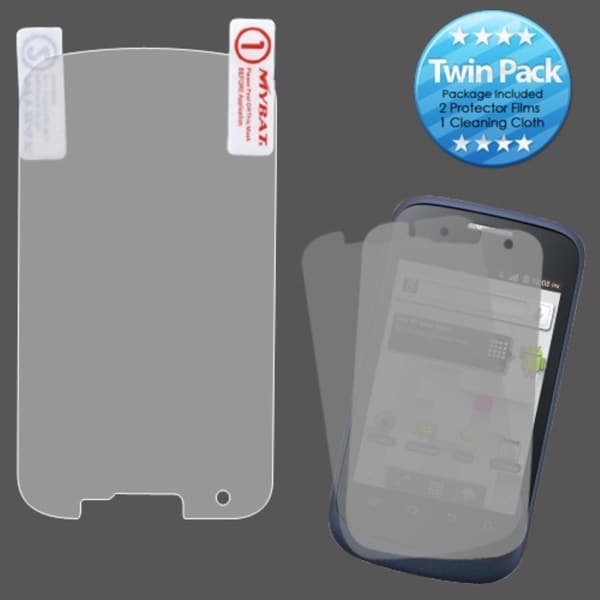 INSTEN Clear Screen Protector Twin Pack for ZTE V768 Concord