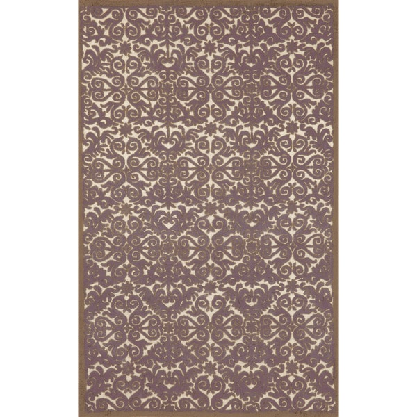Sculptural Indoor Wool Rug (8' x 10')