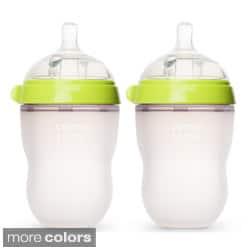 Comotomo Natural Feel 8-ounce Baby Bottles (Pack of 2)|https://ak1.ostkcdn.com/images/products/8002098/Comotomo-Natural-Feel-8-ounce-Baby-Bottles-Pack-of-2-P15367948.jpg?impolicy=medium