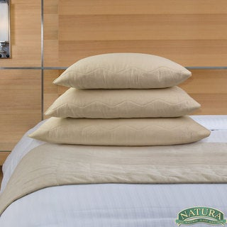 Natura Granulated Latex Aloe Infused Pillow - Beige