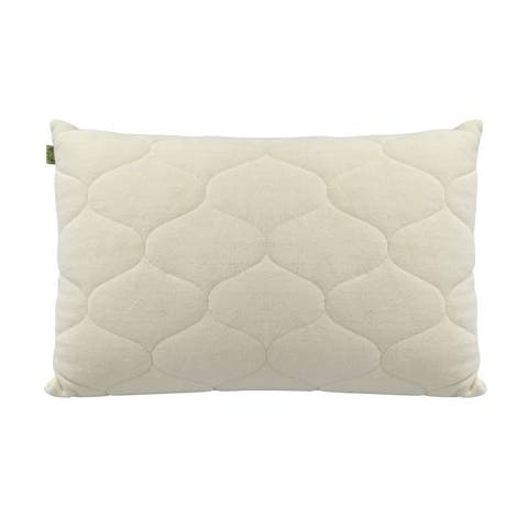 Natura Ideal Talalay Latex Core Pillow - Natural