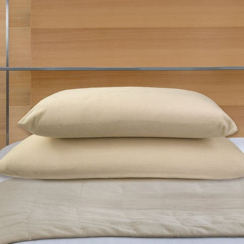 Natura Memory Foam Ventilated Core Pillow - WHITE