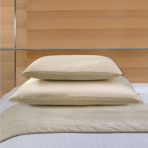 Natura Embrace Memory Foam and Latex Dual Pillow - WHITE