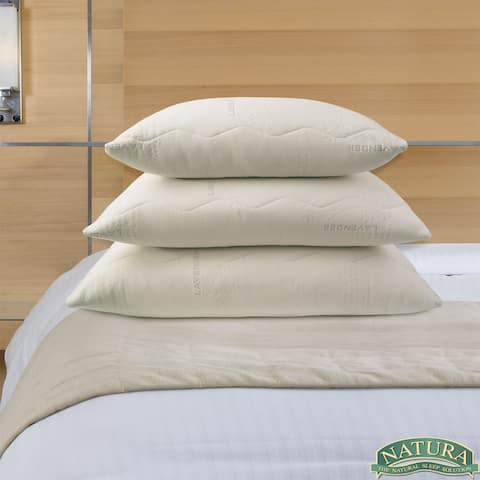 Natura Dual-sided Latex Lavender Scented Pillow - beige