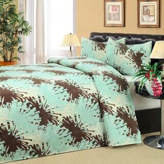 Poppy Microplush Blanket and 2 Piece Sham Set
