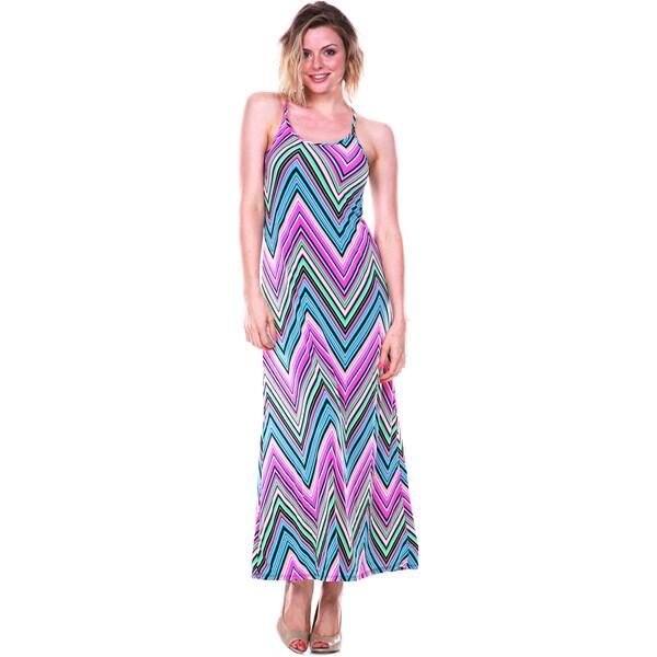 White Mark Women's 'Adalina' Maxi Dress