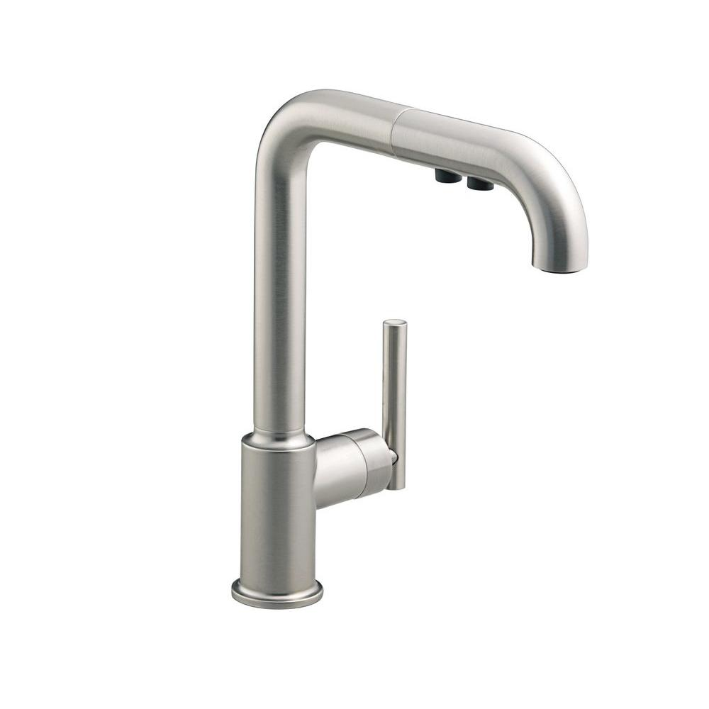 Kohler Purist Single-Hole Kitchen Sink Faucet with 8\