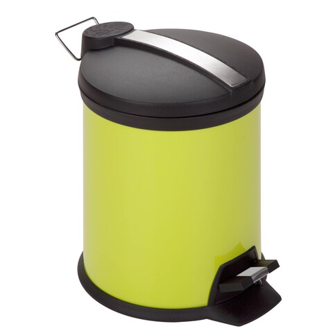 Honey-Can-Do Lime Step 5-liter Trash Can