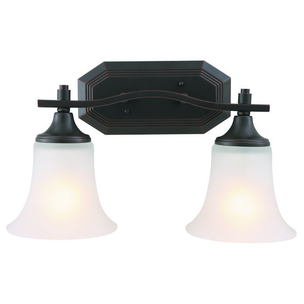 Design House Juneau 2-light Energy Star Oil Rubbed Bronze Wall Sconce