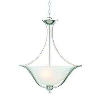 Design House Ironwood 2-light Energy Star Satin Nickel Pendant