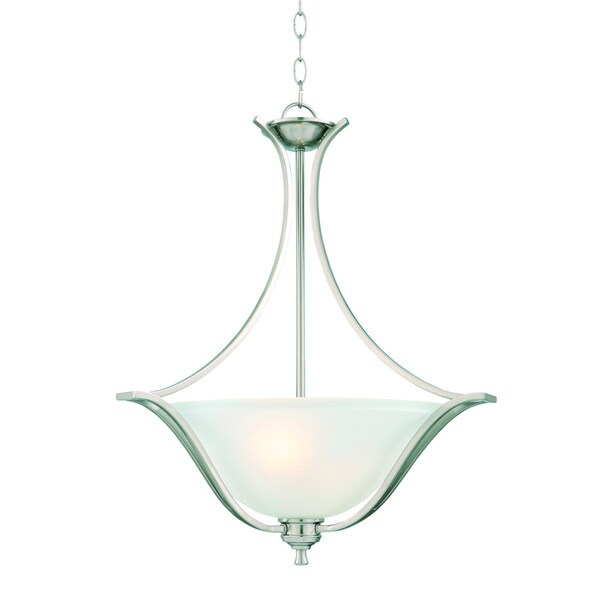 Design House Ironwood 2-light Energy Star Satin Nickel Pendant