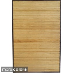 Rayon from Bamboo Solid Area Rug (4' x 6')