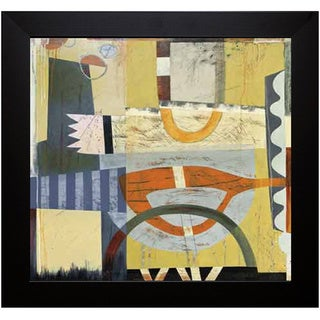 Sue Cretarolo 'Tango II'  Framed Art Print