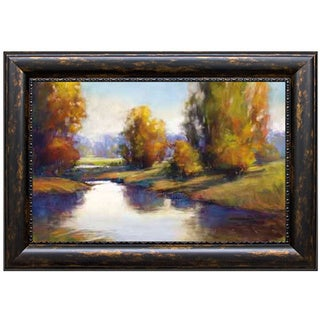 Link to Amanda Houston 'Lake View 2' Framed Art Print Similar Items in Art Prints