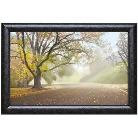 Donald Satterlee 'Early Morning Fog' Framed Art Print