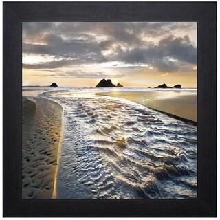 William Vanscoy 'A Thousand Miles Deep' Framed Art Print - Green