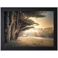 William Vanscoy 'No Place To Fall' Framed Art Print