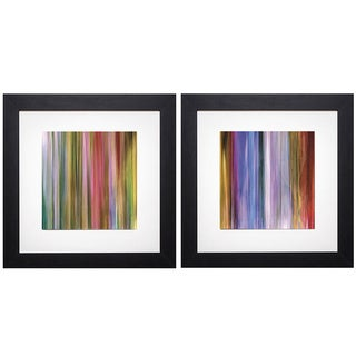 Kim Parker 'Spectra Falls I/Spectra Falls II' Print Art