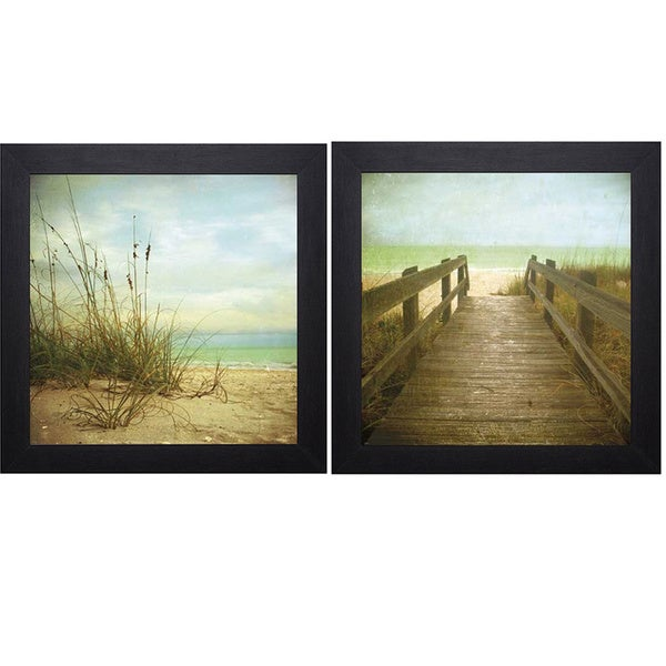 Donna Geissler 'A Place To Be/Twenty One Steps' Art Print