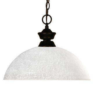 Riviera Bronze/Bourbon 1-light Pendant