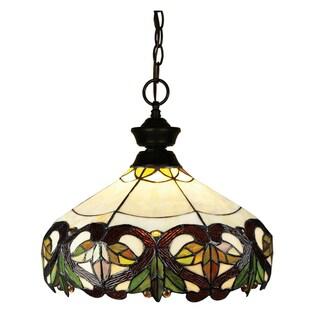 Pendant Lights 1-light Metal/ Glass Pendant