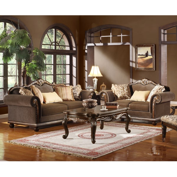 Fabric Sofa And Loveseat Free Shipping Today Overstock