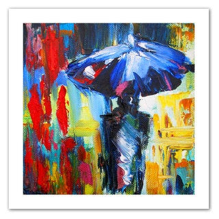 Susi Franco 'Downtown Stroll' Unwrapped Canvas