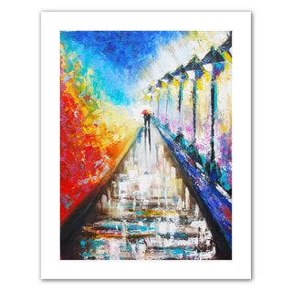 Susi Franco 'Paris Sweethearts' Unwrapped Canvas