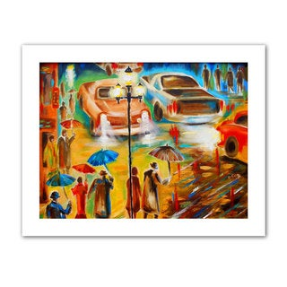 Susi Franco 'In Italy Even Rain is Beautiful' Unwrapped Canvas