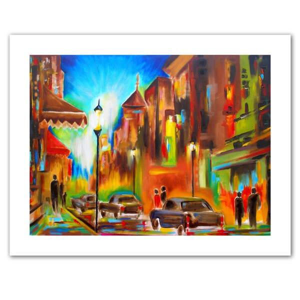 Susi Franco 'Twilight in Treviso' Unwrapped Canvas