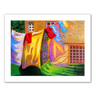 Susi Franco 'French Laundry' Unwrapped Canvas