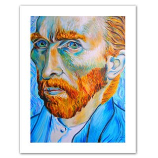 Susi Franco 'My Own Private Vincent van Gogh' Unwrapped Canvas