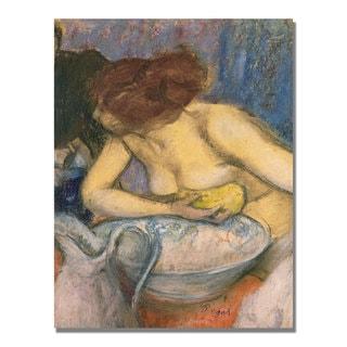 Edgar Degas 'The Toilet' Canvas Art
