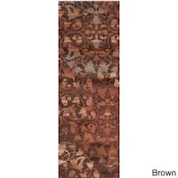 Woven Belle Floral Area Rug - 3' x 8'