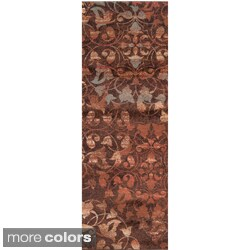 Woven Belle Floral Rug (3' x 8')